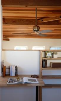 岡崎市・豊田市を中心に注文住宅、新築一戸建てを手掛ける共感住宅レイアウトの見学会「未来の木のお家」の書斎