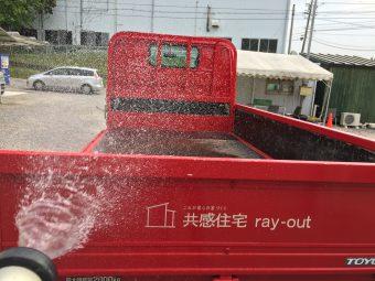 岡崎市・幸田町で注文住宅を建てる共感住宅レイアウトの赤トラック