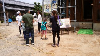 幸田町で開催の完成見学会写真
