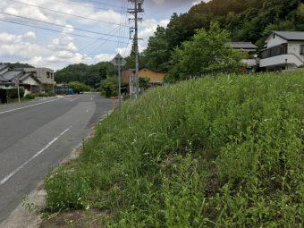 幸田町にある共感住宅のお客様用に見つけた豊田市の土地写真