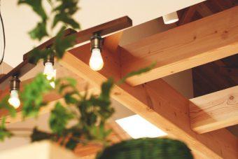Sさまが岡崎市で建てた共感住宅レイアウトのお家 天井の写真