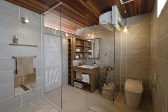 岡崎市の共感住宅のお家 バスルーム写真