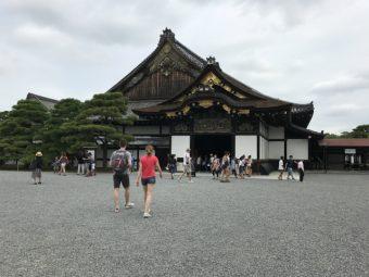 中に入ってデザインの見れる二条城の二の丸御殿の写真