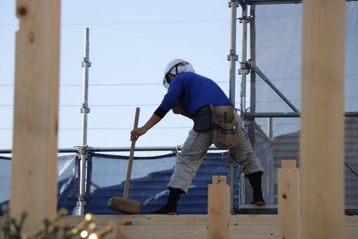 知立市上棟大工さん|岡崎市・豊田市を中心に注文住宅、新築一戸建てを手掛ける共感住宅ray-out(レイアウト)