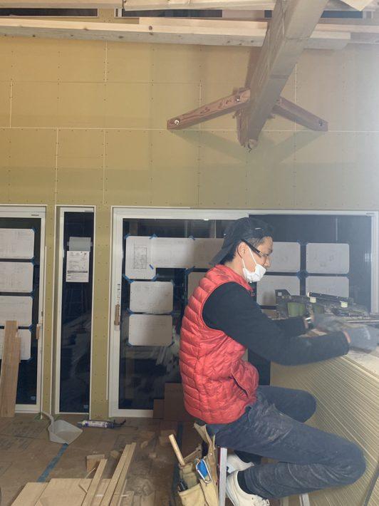 知立の注文住宅完成間近|岡崎市・豊田市を中心に注文住宅、新築一戸建てを手掛ける共感住宅ray-out(レイアウト