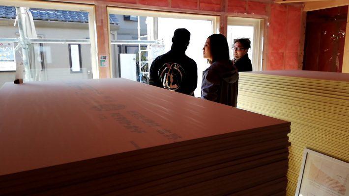 構造見学会が終了 岡崎市・豊田市を中心に注文住宅、新築一戸建てを手掛ける共感住宅ray-out(レイアウト)
