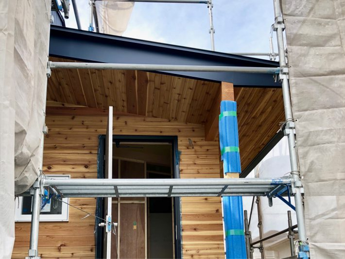 建築途中を見に|岡崎市・豊田市を中心に注文住宅、新築一戸建てを手掛ける共感住宅ray-out(レイアウト)